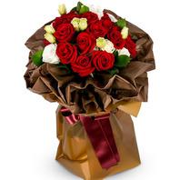 빨간장미혼합꽃다발