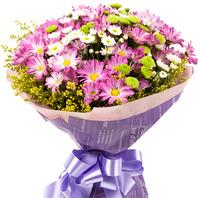소국혼합꽃다발 105b