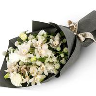화이트혼합꽃다발