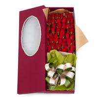 빨간장미백송이꽃박스